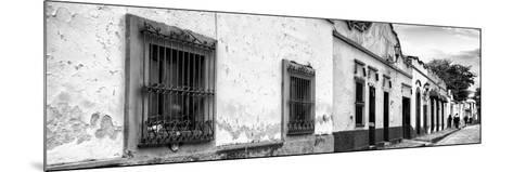 ¡Viva Mexico! Panoramic Collection - Street Scene San Cristobal de Las Casas I-Philippe Hugonnard-Mounted Photographic Print