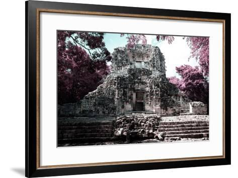 ?Viva Mexico! Collection - Mayan Ruins - Campeche II-Philippe Hugonnard-Framed Art Print