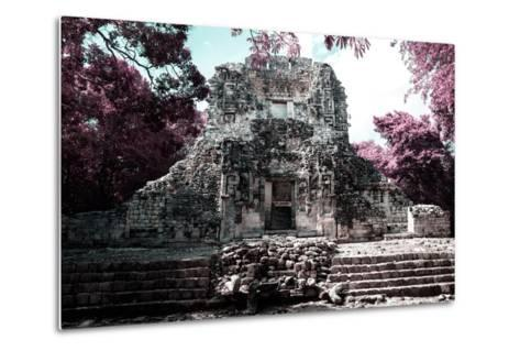 ?Viva Mexico! Collection - Mayan Ruins - Campeche II-Philippe Hugonnard-Metal Print