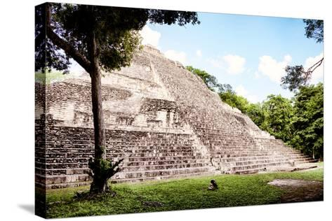 ?Viva Mexico! Collection - Mayan Pyramid II-Philippe Hugonnard-Stretched Canvas Print