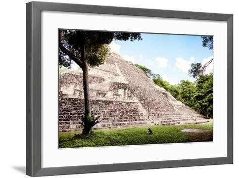 ?Viva Mexico! Collection - Mayan Pyramid II-Philippe Hugonnard-Framed Art Print