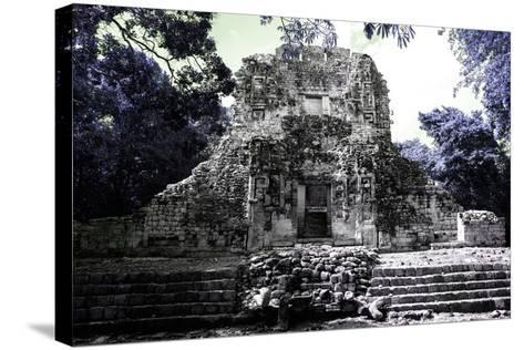 ?Viva Mexico! Collection - Mayan Ruins - Campeche III-Philippe Hugonnard-Stretched Canvas Print