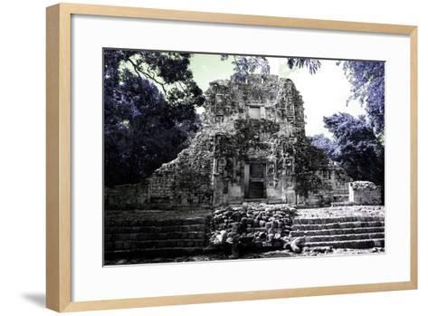 ?Viva Mexico! Collection - Mayan Ruins - Campeche III-Philippe Hugonnard-Framed Art Print