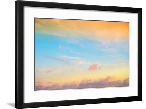 ¡Viva Mexico! Collection - Sky at Sunset II-Philippe Hugonnard-Framed Art Print
