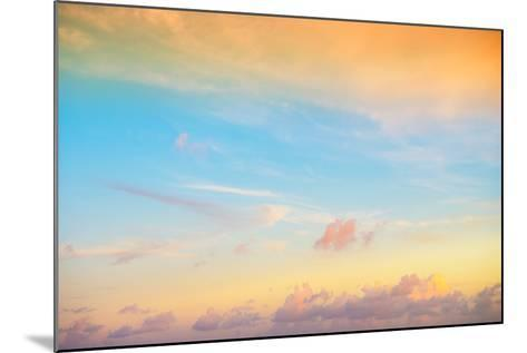 ¡Viva Mexico! Collection - Sky at Sunset II-Philippe Hugonnard-Mounted Photographic Print