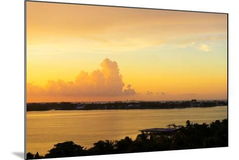 ?Viva Mexico! Collection - Sunset over Cancun-Philippe Hugonnard-Mounted Photographic Print