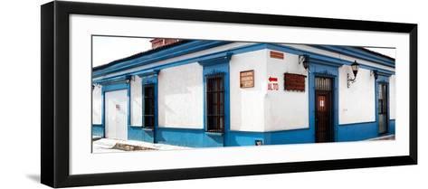 ¡Viva Mexico! Panoramic Collection - Street Scene San Cristobal de Las Casas III-Philippe Hugonnard-Framed Art Print