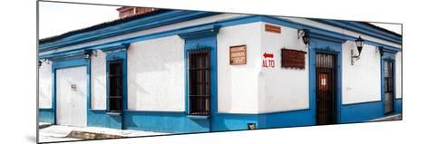 ¡Viva Mexico! Panoramic Collection - Street Scene San Cristobal de Las Casas III-Philippe Hugonnard-Mounted Photographic Print