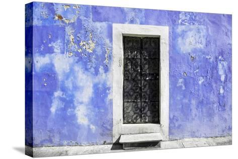 ?Viva Mexico! Collection - Purple Wall of Silence-Philippe Hugonnard-Stretched Canvas Print