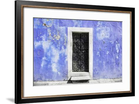 ?Viva Mexico! Collection - Purple Wall of Silence-Philippe Hugonnard-Framed Art Print
