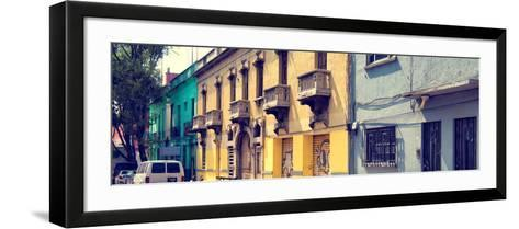 ¡Viva Mexico! Panoramic Collection - Mexico City Architecture-Philippe Hugonnard-Framed Art Print
