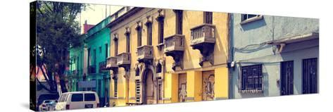 ¡Viva Mexico! Panoramic Collection - Mexico City Architecture-Philippe Hugonnard-Stretched Canvas Print