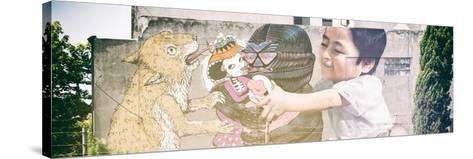 ¡Viva Mexico! Panoramic Collection - Urban Art II-Philippe Hugonnard-Stretched Canvas Print