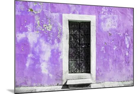 ¡Viva Mexico! Collection - Mauve Wall of Silence-Philippe Hugonnard-Mounted Photographic Print