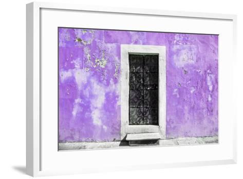 ¡Viva Mexico! Collection - Mauve Wall of Silence-Philippe Hugonnard-Framed Art Print