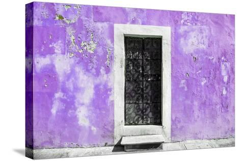 ¡Viva Mexico! Collection - Mauve Wall of Silence-Philippe Hugonnard-Stretched Canvas Print