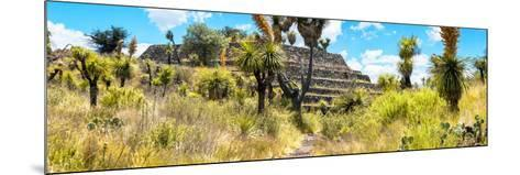 ¡Viva Mexico! Panoramic Collection - Pyramid of Cantona Archaeological Site-Philippe Hugonnard-Mounted Photographic Print