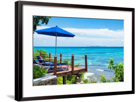 ¡Viva Mexico! Collection - Look at Cancun-Philippe Hugonnard-Framed Art Print