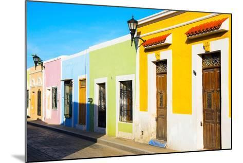 ?Viva Mexico! Collection - Campeche City Colonial Architecture-Philippe Hugonnard-Mounted Photographic Print