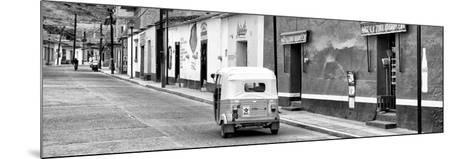 ¡Viva Mexico! Panoramic Collection - Mexican Street Scene with Tuk Tuk II-Philippe Hugonnard-Mounted Photographic Print