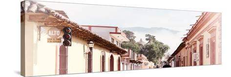 ¡Viva Mexico! Panoramic Collection - San Cristobal de Las Casas IV-Philippe Hugonnard-Stretched Canvas Print