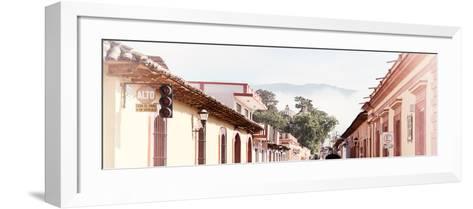 ¡Viva Mexico! Panoramic Collection - San Cristobal de Las Casas IV-Philippe Hugonnard-Framed Art Print