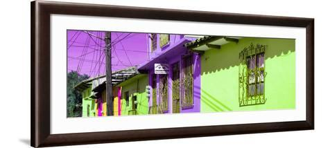 ¡Viva Mexico! Panoramic Collection - Colorful Houses in San Cristobal IV-Philippe Hugonnard-Framed Art Print