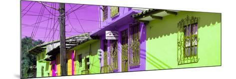 ¡Viva Mexico! Panoramic Collection - Colorful Houses in San Cristobal IV-Philippe Hugonnard-Mounted Photographic Print