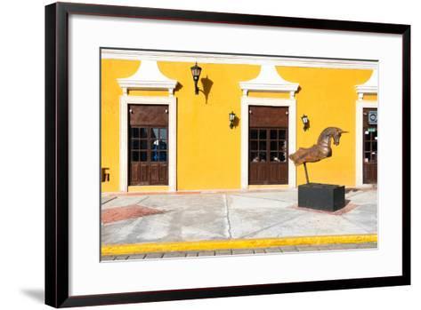 ?Viva Mexico! Collection - Yellow Facade - Campeche-Philippe Hugonnard-Framed Art Print