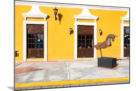 ?Viva Mexico! Collection - Yellow Facade - Campeche-Philippe Hugonnard-Mounted Photographic Print