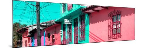 ¡Viva Mexico! Panoramic Collection - Colorful Houses in San Cristobal III-Philippe Hugonnard-Mounted Photographic Print