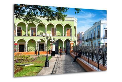 ?Viva Mexico! Collection - End of the day in Campeche-Philippe Hugonnard-Metal Print