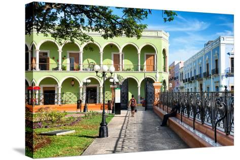 ?Viva Mexico! Collection - End of the day in Campeche-Philippe Hugonnard-Stretched Canvas Print