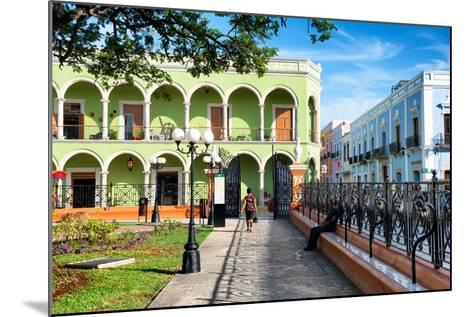 ?Viva Mexico! Collection - End of the day in Campeche-Philippe Hugonnard-Mounted Photographic Print