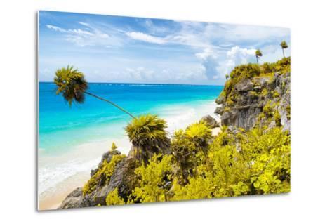 ?Viva Mexico! Collection - Caribbean Coastline in Tulum II-Philippe Hugonnard-Metal Print