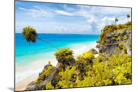 ?Viva Mexico! Collection - Caribbean Coastline in Tulum II-Philippe Hugonnard-Mounted Photographic Print