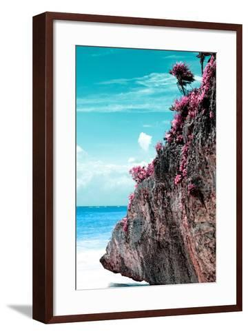¡Viva Mexico! Collection - Rock in the Caribbean III-Philippe Hugonnard-Framed Art Print