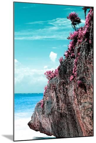 ¡Viva Mexico! Collection - Rock in the Caribbean III-Philippe Hugonnard-Mounted Photographic Print