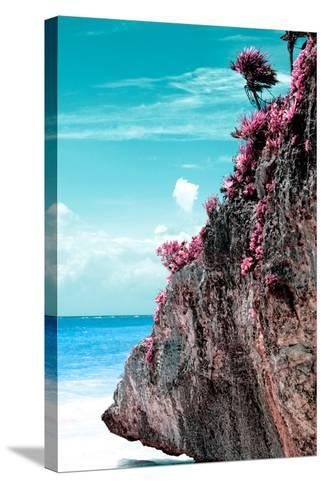 ¡Viva Mexico! Collection - Rock in the Caribbean III-Philippe Hugonnard-Stretched Canvas Print