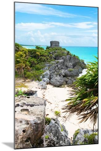 ¡Viva Mexico! Collection - Tulum Ruins along Caribbean Coastline II-Philippe Hugonnard-Mounted Photographic Print