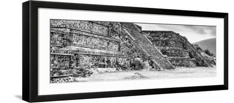 ¡Viva Mexico! Panoramic Collection - Teotihuacan Pyramids II-Philippe Hugonnard-Framed Art Print