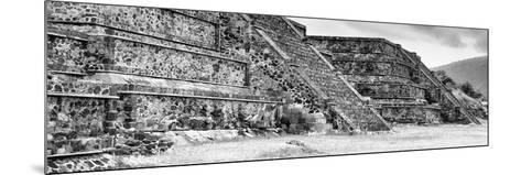 ¡Viva Mexico! Panoramic Collection - Teotihuacan Pyramids II-Philippe Hugonnard-Mounted Photographic Print