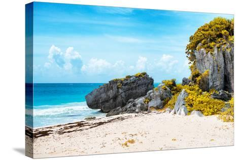 ¡Viva Mexico! Collection - Riviera Maya in Tulum II-Philippe Hugonnard-Stretched Canvas Print