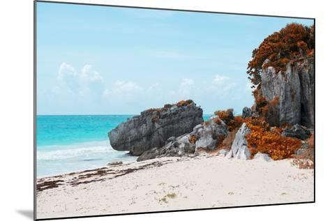 ¡Viva Mexico! Collection - Riviera Maya in Tulum with Fall Colors-Philippe Hugonnard-Mounted Photographic Print