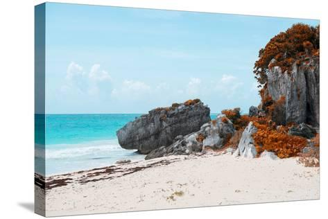 ¡Viva Mexico! Collection - Riviera Maya in Tulum with Fall Colors-Philippe Hugonnard-Stretched Canvas Print