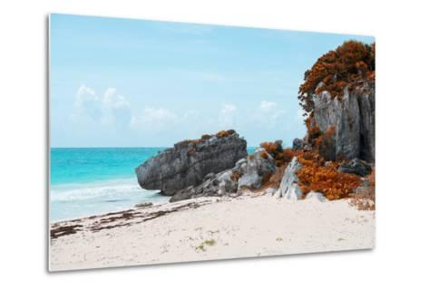 ¡Viva Mexico! Collection - Riviera Maya in Tulum with Fall Colors-Philippe Hugonnard-Metal Print