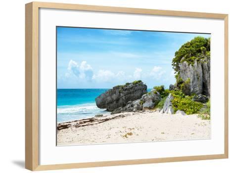 ¡Viva Mexico! Collection - Riviera Maya in Tulum-Philippe Hugonnard-Framed Art Print