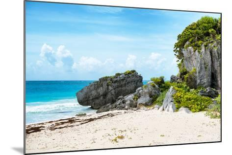 ¡Viva Mexico! Collection - Riviera Maya in Tulum-Philippe Hugonnard-Mounted Photographic Print