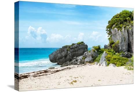 ¡Viva Mexico! Collection - Riviera Maya in Tulum-Philippe Hugonnard-Stretched Canvas Print