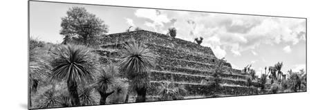 ¡Viva Mexico! Panoramic Collection - Pyramid of Cantona Archaeological Site VIII-Philippe Hugonnard-Mounted Photographic Print